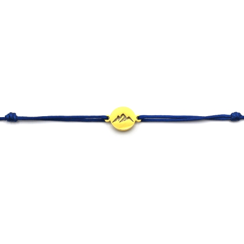 Bergliebe - Armband (Blau)