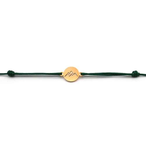 Bergliebe - Armband (Grün)