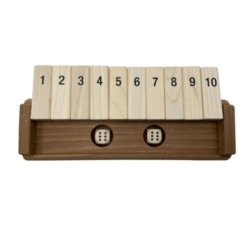 Klappenspiel aus Holz - Handgemacht