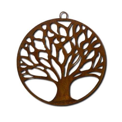 Metalldeko - Lebensbaum