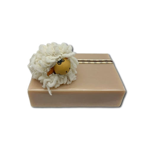 Schafmilchseife mit Schafmotiv