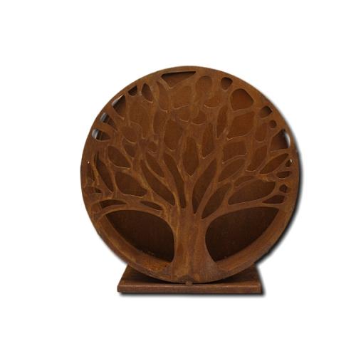 Metalldeko - Teelicht Lebensbaum