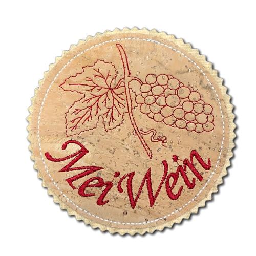 Fuizl (Untersetzer) - Weinrebe