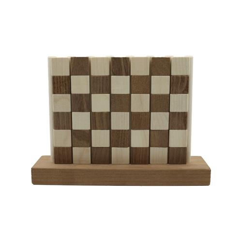 Vier gewinnt aus Holz