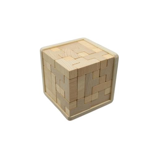 T- Würfel - Holzpuzzle